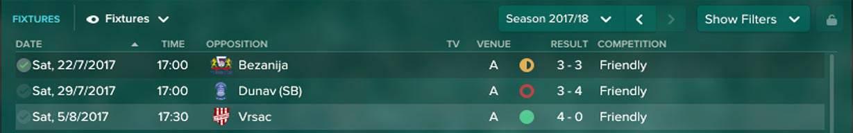Friendly Fixtures