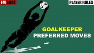 Goalkeeper Preferred Moves
