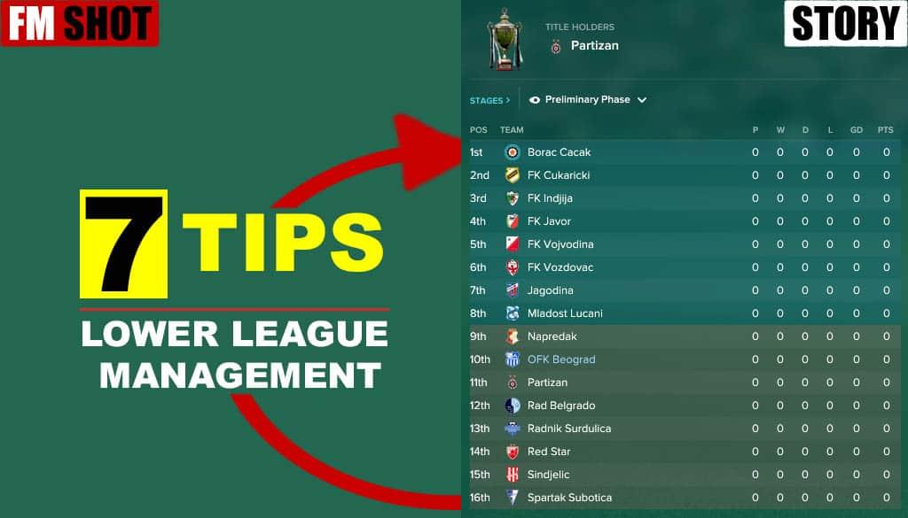 Lower League Management
