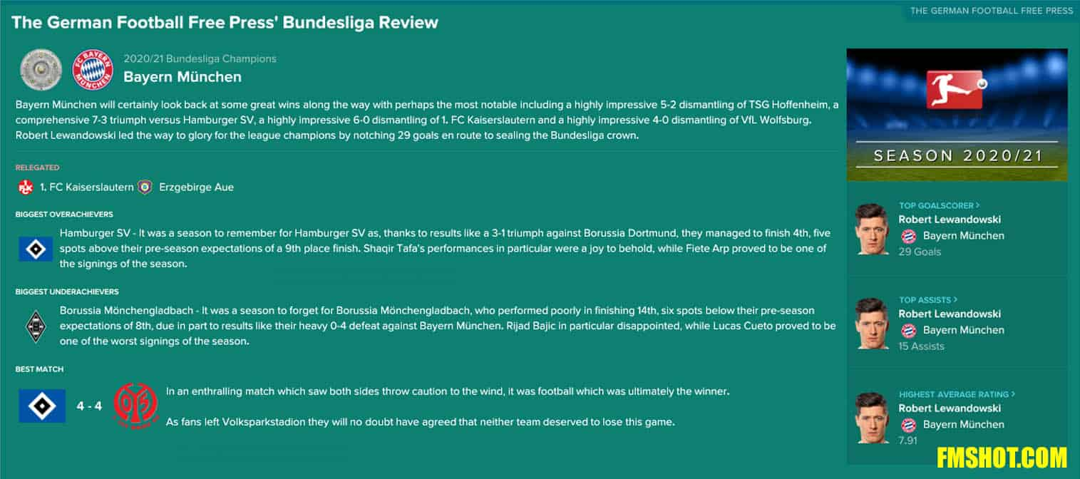 Bundesliga Review