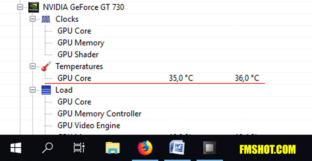 GeForce GT 730 GPU Core
