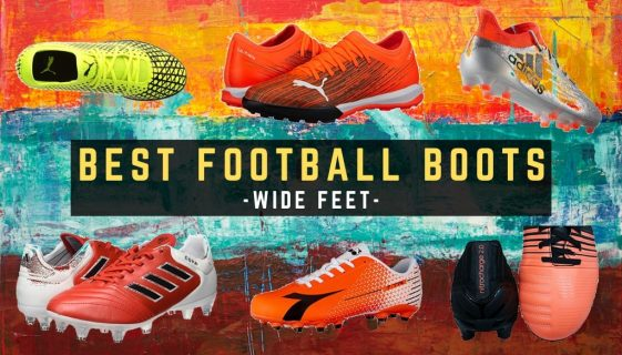 best football boots for wide feet